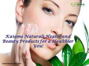 Kaiame Naturals Health and Beauty Products for a Healthier You!