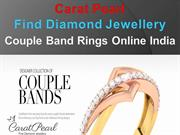 Carat Pearl- Couple Band Rings Online
