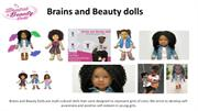 Brains And Beauty Dolls With Natural Hairs