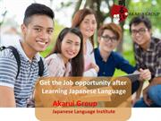 Japanese Languages Courses in Gurgaon
