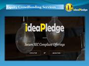 Equity Crowdfunding Services