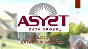 Asyst Data Group - Software Information