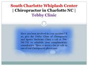 South Charlotte Whiplash Center | Chiropractor in Charlotte NC