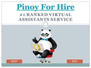 Pinoy For Hire Have Perfect Packages For You