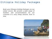Ethiopia Holiday Packages