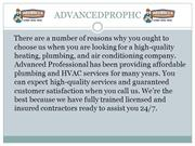 Plumbing, Sewer and Air Conditioner Repair Services - Advancedprophc