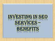 Investing in SEO Services – Benefits