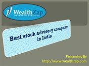 Best stock advisory company in india