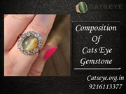 Composition of Cats Eye Gemstone