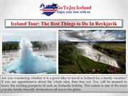 Iceland Tour The Best Things to Do In Reykjavik