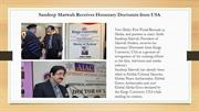 Sandeep Marwah Receives Honorary Doctorate from USA