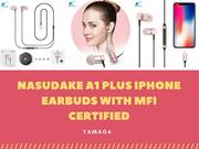 Nasudake A1 Plus iPhone Earbuds with MFi Certified