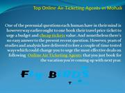 Top Online Air Ticketing Agents in Mohali
