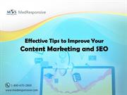 Effective Tips to Improve Your Content Marketing and SEO