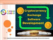 Cryptocurrency Exchange Software Development Company