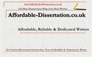Get Custom Dissertation Solution from Team of Qualified &  Experienced