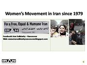 Women Movement in Iran from 1979-2009(M)