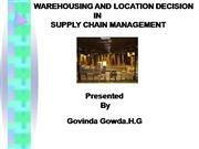 govindgowda supply chain