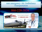 What is Non-Emergency Air Ambulance Transportation Service