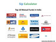 Small Amount of Investment Decision With SIP Calculator