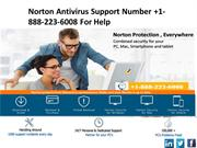 Norton Antivirus Support Number +1-888-223-6