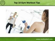 Terrence Cosgrove Shared Top 10 Gym Workout Tips for Beginners