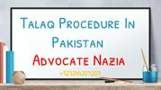 Legal help in procedure of talaq in pakistan