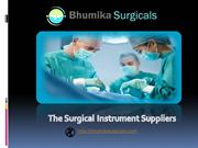 Buy Surgical Instruments | Bhumika Surgicals