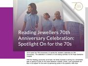 Jewellers 70th Anniversary Celebration: Spotlight On For The 70s