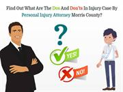 Find Out What Are The Dos And Don'ts In Injury Case By Personal Injury