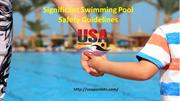Significant Swimming Pool SafetyGuidelines