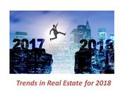 Tim Marais - Trends in Real Estate for 2018