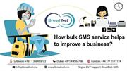 How Bulk SMS service helps to improve a business