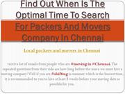 Find Out When Is The Optimal Time To Search For Packers And Movers Com