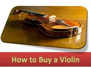 How to Buy a Violin