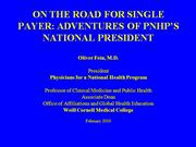 On the Road for Single Payer