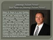 Attorney Robert Pascal! Best Facts on Attorney Robert Pascal