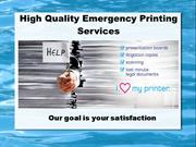High Quality Printing Services in Chevy Chase