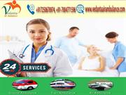 Vedanta Air Ambulance from Bikaner to Delhi with experienced MD Doctor