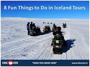 8 Fun Things to Do in Iceland Tours