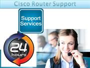 Cisco Router Support
