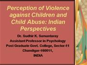 Perception of Violence against Children