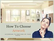 How To Choose Artwork According To Portions Of Your House