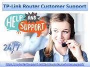 TP-Link Router Tech Support
