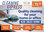 Cleaning Express - Quality cleaning for your home and office