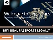 BEST PLACE TO BUY REAL PASSPORTS LEGALLY  BUY PASSPORTS ONLINE