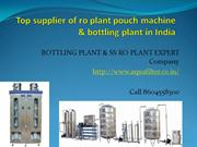 WELCOME TO AQUAFILTER BOTTLING PLANT & SS RO PLANT EXPERT COMPANY