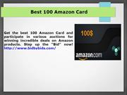 Amazon Card Auctions