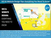 SEO & Website Design Tips-Everything you need to know