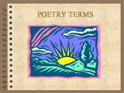 Poetry Overview